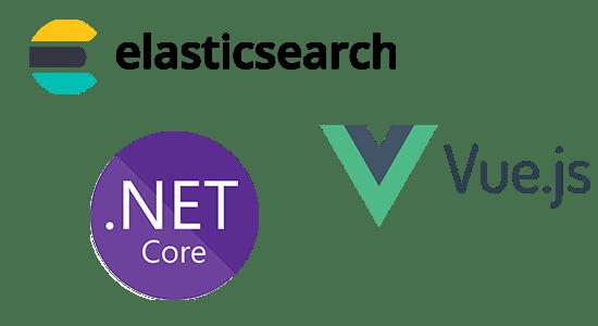 elasticsearch .NETCore Vue.js